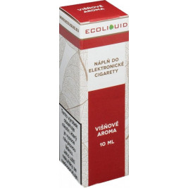 Liquid Ecoliquid Cherry 10ml - 0mg (Višeň)