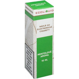 Liquid Ecoliquid Menthol 10ml - 0mg