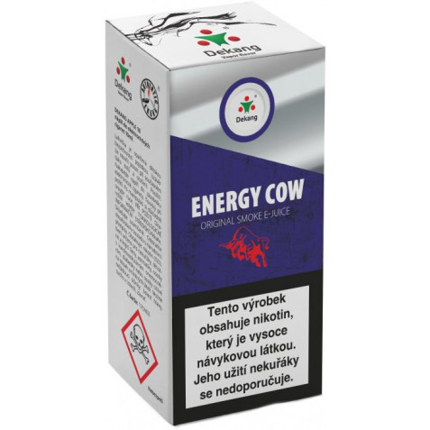 Liquid Dekang Energy Cow 10ml - 16mg (energetický nápoj)