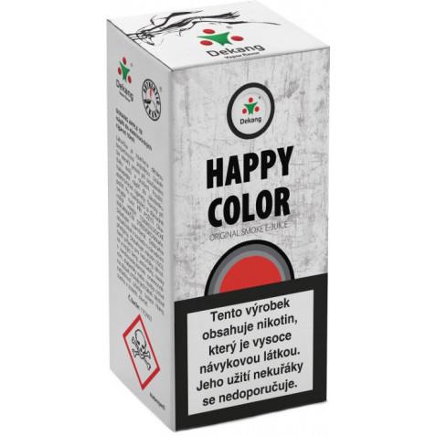 Liquid Dekang Happy color 10ml - 18mg