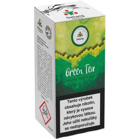 Liquid Dekang Green Tea 10ml - 11mg (Zelený čaj)