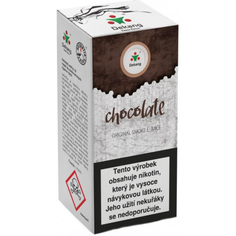 Liquid Dekang Chocolate 10ml-18mg (Čokoláda)