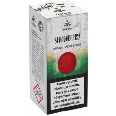 Liquid Dekang Strawberry 10ml - 3mg (Jahoda)