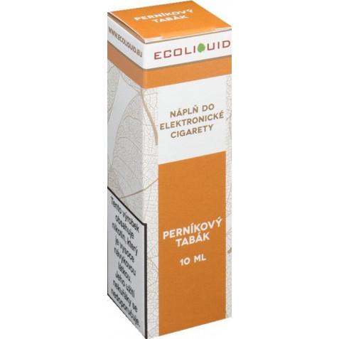 Liquid Ecoliquid Gingerbread tobacco 10ml - 12mg (Perníkový tabák)