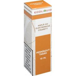 Liquid Ecoliquid Gingerbread tobacco 10ml - 20mg (Perníkový tabák)