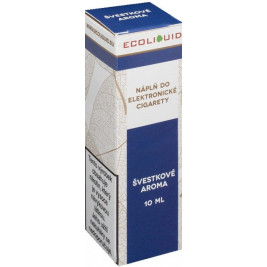Liquid Ecoliquid Plum 10ml - 20mg (Švestka)