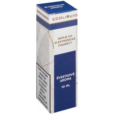 Liquid Ecoliquid Plum 10ml - 20mg (Švestka)
