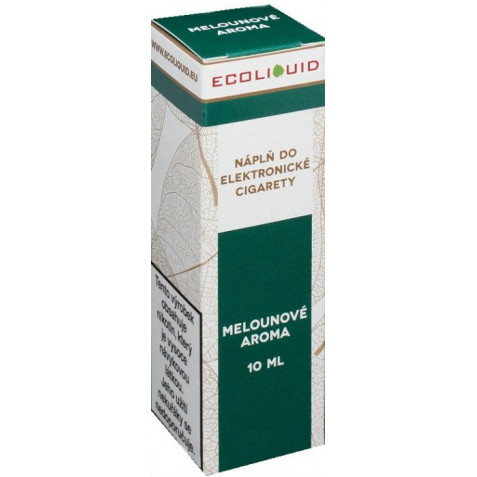 Liquid Ecoliquid Watermelon 10ml - 3mg (Vodní meloun)