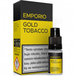 Liquid EMPORIO Gold Tobacco 10ml - 3mg
