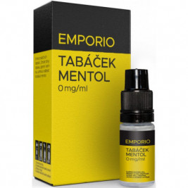 Liquid EMPORIO Tobacco - Menthol 10ml - 0mg
