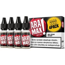 Liquid ARAMAX 4Pack Max Cream Dessert 4x10ml-3mg