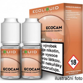 Liquid Ecoliquid Premium 2Pack ECOCAM 2x10ml - 20mg