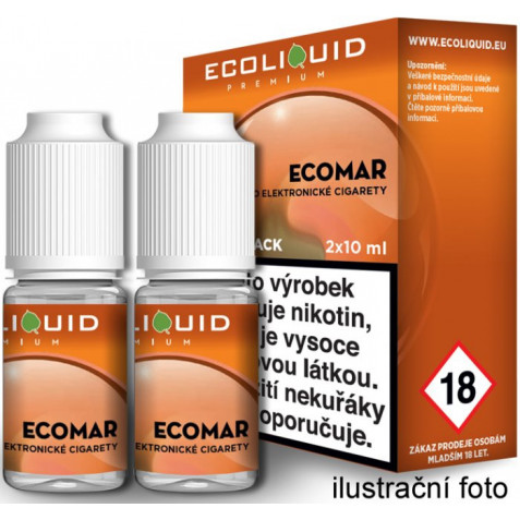 Liquid Ecoliquid Premium 2Pack ECOMAR 2x10ml - 12mg
