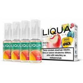 Liquid LIQUA CZ Elements 4Pack Peach 4x10ml-3mg (Broskev)