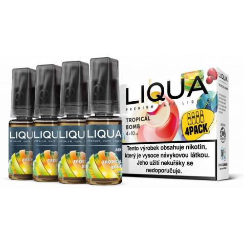 Liquid LIQUA CZ MIX 4Pack Tropical Bomb 10ml-3mg