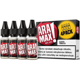 Liquid ARAMAX 4Pack Classic Tobacco 4x10ml-12mg