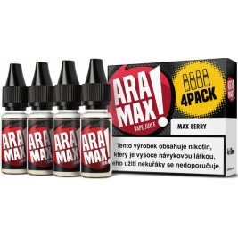 Liquid ARAMAX 4Pack Max Berry 4x10ml-12mg