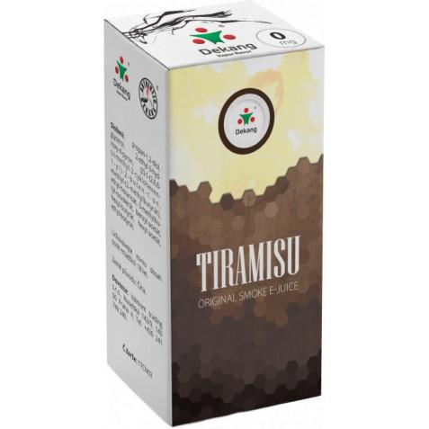 Liquid Dekang Tiramisu 10ml - 0mg (Tradiční italský dezert)