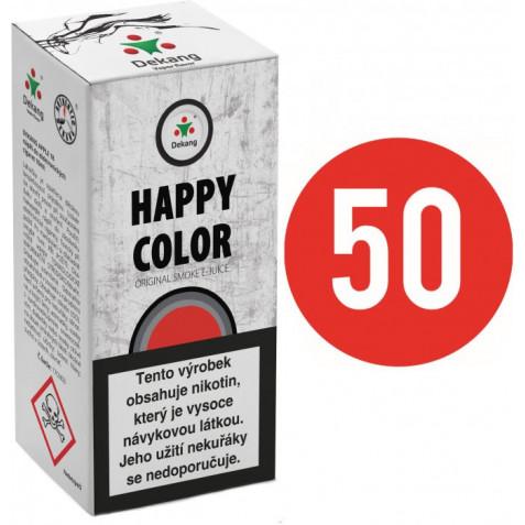 Liquid Dekang Fifty Happy Color 10ml - 11mg