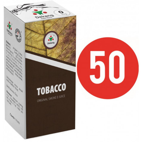Liquid Dekang Fifty Tobacco 10ml - 0mg (Tabák)