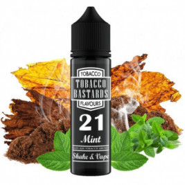 Příchuť Flavormonks Tobacco Bastards Shake and Vape 12ml No.21 Mint