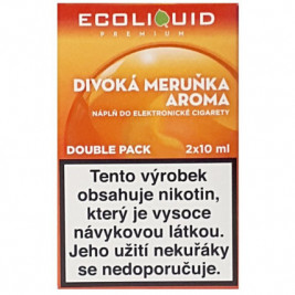 Liquid Ecoliquid Premium 2Pack Wild Apricot 2x10ml - 6mg