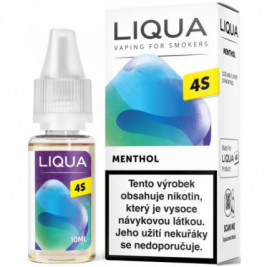 Liquid LIQUA CZ 4S Menthol 10ml-20mg