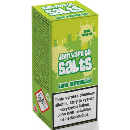 Liquid Juice Sauz SALT The Jam Vape Co Lime Marmalade 10ml - 10mg