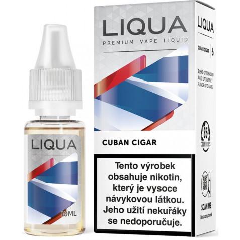 Liquid LIQUA CZ Elements Cuban Tobacco 10ml-6mg (Kubánský doutník)