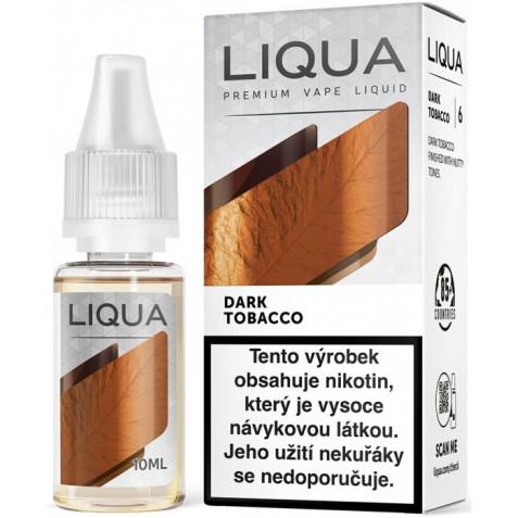 Liquid LIQUA CZ Elements Dark Tobacco 10ml-3mg (Silný tabák)