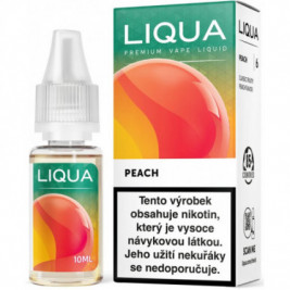 Liquid LIQUA CZ Elements Peach 10ml-6mg (Broskev)