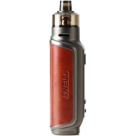 Uwell Aeglos P1 80W grip Full Kit Reddish Brown